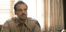 David Harbour s'invite sur les photos de fin d'année d'une fan de Stranger Things